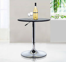25″Dia. Indoor Home Bar Table Adjustable Bistro Pub Counter Round 360 Swivel Top