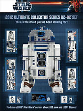 *BRAND NEW* LEGO Star Wars R2-D2 10225 POSTER Limited Edition *POSTER ONLY*