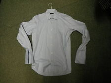 Hugo Boss Size 38 15 inch Neck Mens Casual Long Sleeve Dress Shirt