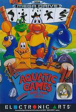 ## Aquatic Games Starring James Pond - SEGA Mega Drive / MD Spiel - TOP ##