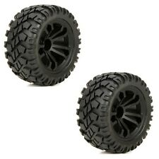 ECX ECX43010 Front/Rear Premounted Wheel & Tire  (2) 1/10 4wd Circuit Stadium