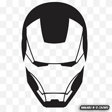 IRON MAN Vinyl Graphic Decal Sticker for car bumper window laptop (02)