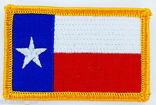 Ecusson Brodé PATCH drapeau TEXAS USA AMERICAIN ETATS UNIS FLAG EMBROIDERED