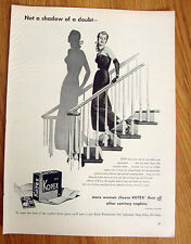 1947 Kotex Ad Not a Shadow of a Doubt