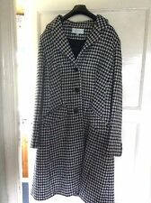 Cotswold Collections 'Three Button Coat Black/white' Size 14 BRAND NEW