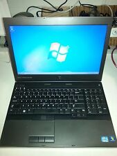 "Dell Precision M4600 15.6"" Laptop i5@2.6GHz 4GB RAM, 250GB HDD Win 7 