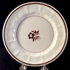 Morning Glory Plate Copper Luster Ironstone Elmore Forster 1860s 7 Inches