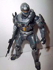 Halo Reach Series 6 **STEEL SPARTAN RECON** Figure 100% Complete w/ Gun!!