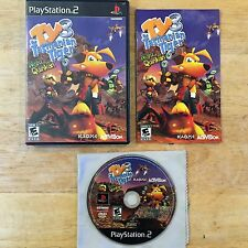 Ty the Tasmanian Tiger 3: Night of the Quinkan Sony Playstation 2 PS2 Complete