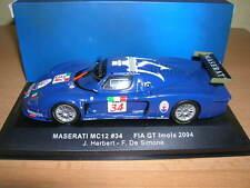perIxo Maserati MC12 FIA GT imola 2004 J. herbert - F. De Simone, #34 1:43