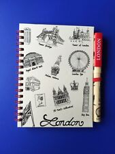 LONDON SOUVENIR NOTE PAD WITH LONDON PEN SOUVENIR AND CHRISMAS GIFT