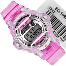 CASIO BABY G BG169R-4A DIGITAL PINK LADIES SPORTS WATCH