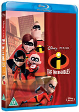 THE INCREDIBLES - BLU-RAY - REGION B UK
