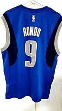 Adidas NBA Jersey Dallas Mavericks Rajon Rondo Blue sz S