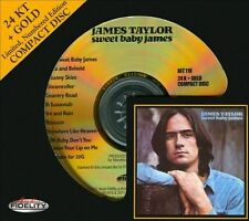 JAMES TAYLOR - Sweet Baby James (Audio Fidelity) 24 KT GOLD CD [J50]