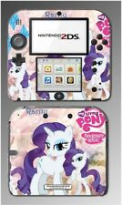 My Little Pony Friendship is Magic Rarity Cartoon Game Skin Cover Nintendo 2DS