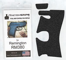Tractiongrips textured rubber grip overlay for Remington RM380 / Traction Grips