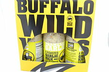 Buffalo Wild Wings Sauce -PARMESAN GARLIC  3 Bottles 12 0Z EACH