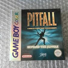 Vintage#PITFALL BEYOND THE JUNGLE GBC Nintendo Game Boy Color#PAL FACTORY SEALED
