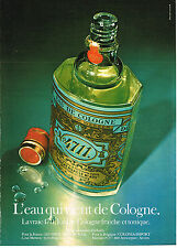 PUBLICITE ADVERTISING 094  1979  EAU DE COLOGNE 4711