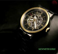 KENNETH COLE MEN'S AUTOMATIC SKELETON 2 TONES WATCH KC9177