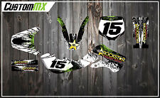 KX65 KX 65 00-15 KLX 110 02-09 & Pitbike Graphics Kit with custom numbers etc