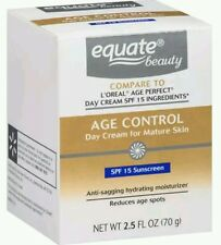 2x Equate Beauty Age Control Day Cream for Mature Skin, 2.5 fl oz