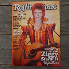 Rolling Stone Magazine David Bowie February 2 2012 Ziggy Picture