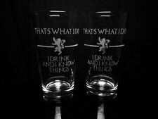 Game of Thrones Quote - That's What I Do I Drink And I Know Things - Tyrion