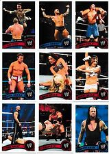 2011 Topps WWE 110 Card Set CM Punk John Cena The Rock Daniel Bryan Undertaker