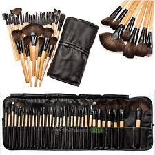 32pcs Professional Cosmetic Eyebrow Eye Shadow Makeup Brush Set Pouch Bag Case
