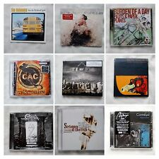70 NEW SEALED CDs-Buy one or buy them all-$5.00 each-Alt Rock,Lots of Metal,Jazz