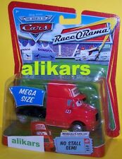 MR - NO STALL Semi - #14 Mega Size Race O Rama 123 Disney Mattel Cars modellino