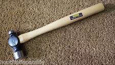VINTAGE NOS STANLEY 5310 1lb BALL PEIN ENGINEERS HAMMER EVERTITE ASH WOOD SHAFT