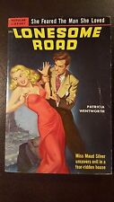 """Patricia Wentworth, """"Lonesome Road,"""" 1951, Popular Library333, VG+, 1st"""