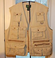 Vintage Polo Ralph Lauren Fly Fishing Hunting Vest Size L Shooting Country RRL