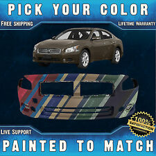 NEW Painted To Match- Front Bumper Cover Replacement for 2009-2014 Nissan Maxima