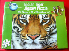 INDIAN/BENGAL TIGER 500 pc Jigsaw Puzzle NEW SEALED Wild Animal/Big Cat