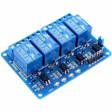 1PCS 4 Four Channel Relay Module DC 5V + Optocoupler For Arduino PIC ARM AVR DSP