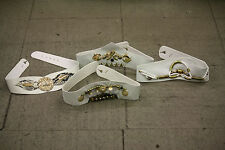 JOB LOT of 30 Womens Belts (WHITE) ALL ONE SIZE *STYLES MAY VARY*