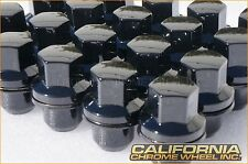 Black Land Rover Range Rover Lug Nuts + Locks 20 For LR3 LR4 HSE Supercharged
