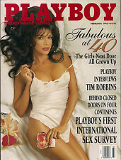PLAYBOY FEBRUARY 1995-F - LISA MARIE SCOTT - JULIE LYNN CIALINI  !!!