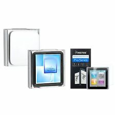 Crystal Hard Cover Case Skin+Guard Accessory For Apple iPod Nano 6th Gen 6 6G G