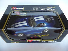 Bburago 1:18 Dodge Viper RT/10 Electric Blue 1993 BB3065