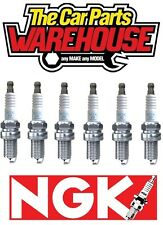 SIX ( x6 ) GENUINE NGK SPARK PLUGS  NGK 3199 / BKR6EQUP BMW AUDI MINI PORSCHE