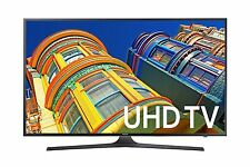 Samsung UN43KU6300 43-Inch 4K UHD 60Hz 120 CMR LED HDTV with built-in Wi-Fi