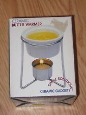 CERAMIC BUTTER WARMER by Simple Solutions New In Box