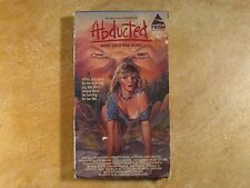 ABDUCTED DAN HAGGERTY BASED ON A TRUE STORY VHS RARE! 1ST EDITION 1985 PRISM