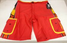 Fox Racing Cloud Break Men's Cargo Pocket Boardshorts Size 38