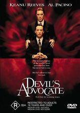 The Devil's Advocate (1997) Al Pacino, Keanu Reeves - NEW DVD - Region 4
